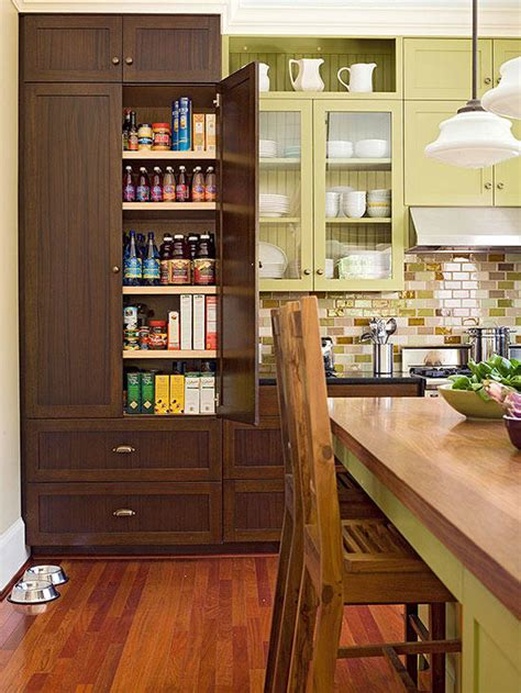 kitchen pantry ideas for small kitchens 2018 kitchen pantry design ideas better homes gardens