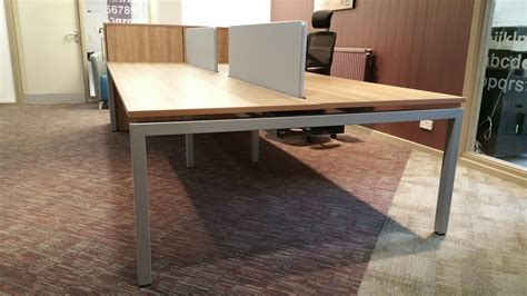 gianni office furniture goalpost and a frame bench desks