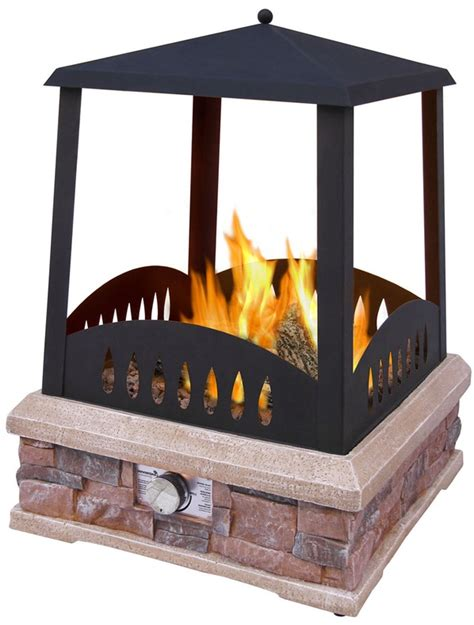 outdoor fireplace kits instant home backyard fireplace