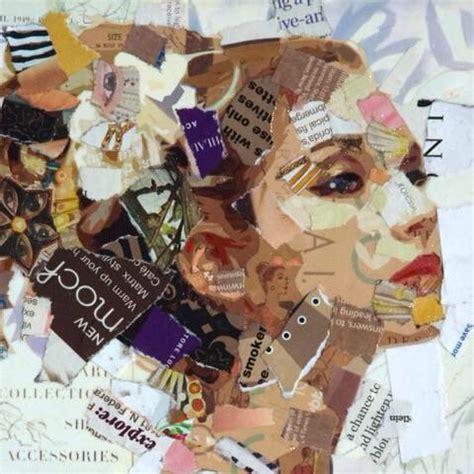 imagenes visuales representativo ejemplo de collage con texturas visuales collages
