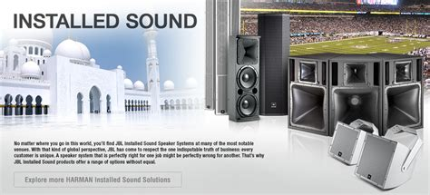 Speaker Indoor Masjid installed sound products jbl professional