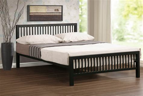 black metal king size bed frame abdabs furniture meridian black metal bed frame king size