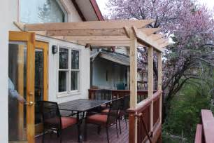 Diy Pergola Attached To House by Diy Attached Pergola Plans Glossy16ecn