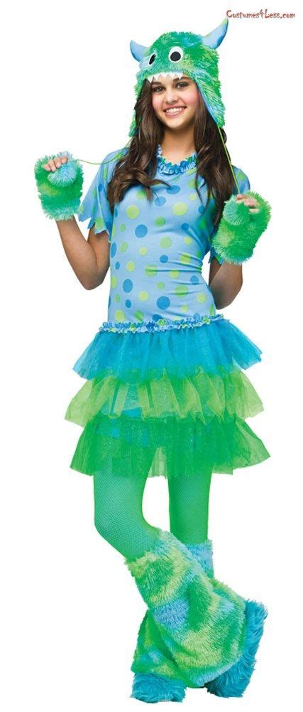 monster  teen costume teen girl costumes cute