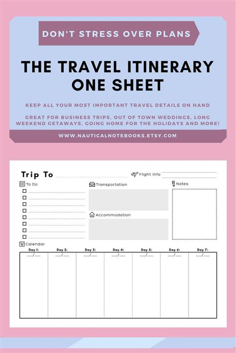 trip itinerary template best 25 travel itinerary template ideas on