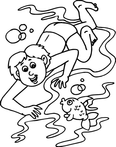 Swimming Pool Coloring Pages Coloring Home Swimming Pool Coloring Pages
