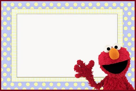 elmo template for invitations elmo free invitation template free printable invitation