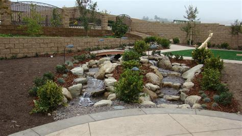 Pictures Of Backyard Waterfalls And Streams by Pictures For Landscape Designs By Lloyd Reichardt In