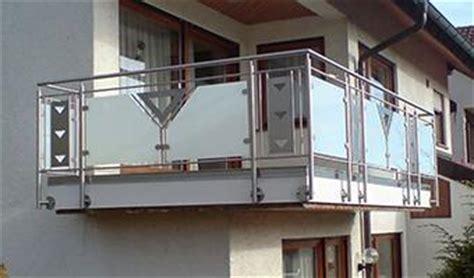 niro balkongeländer balkongel 228 nder aus edelstahl