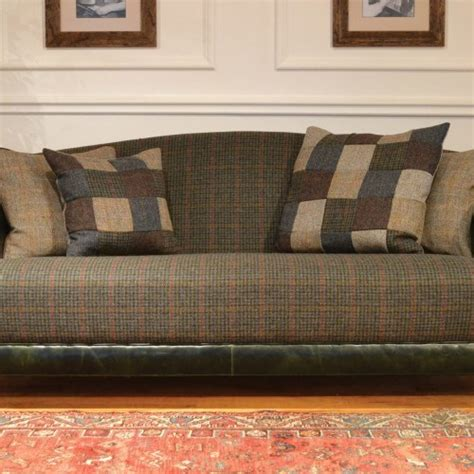 masculine sofas the harris tweed sofa masculine interiors