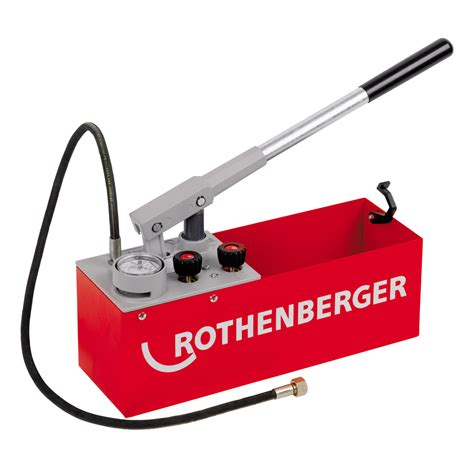 test su rothenberger 6 0200 rp50 s pressure testing