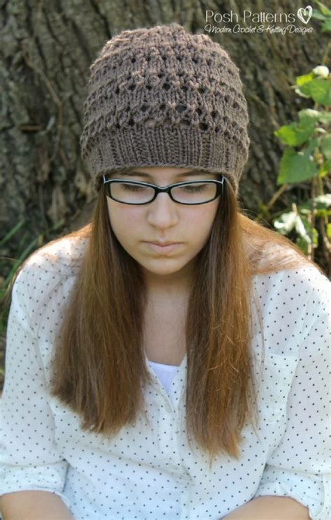 free hats knitting patterns knittinghelpcom free knitting pattern eyelet lace hat