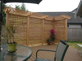 Pergola Privacy Screens by 10 Best Outdoor Privacy Screen Ideas For Your Backyard