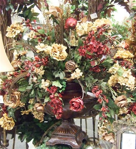 Silk Flower Arrangements by Silk Flowers Ideas Traditional