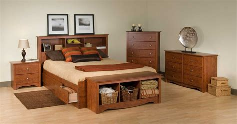 queen platform bedroom set 3 discount prepac monterey queen platform storage bed set with free delivery and