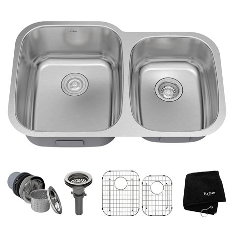 Stainless Steel Kitchen Sinks Kraususa Com Stainless Steel Undermount Kitchen Sinks Reviews