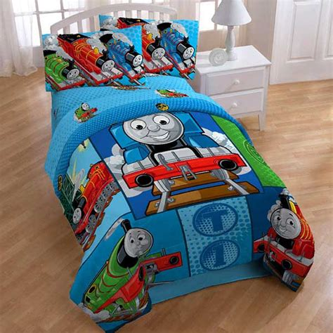 thomas the train twin bed set thomas train twin bed in bag tank engine railroad