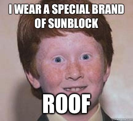 Funny Ginger Meme - image 263405 over confident ginger know your meme