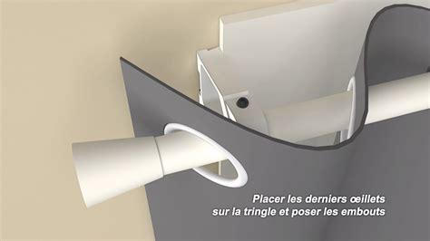 Pose De Rideaux Sans Percer by Ridorail Ib Support De Tringle 224 Rideaux Pour Fenetre