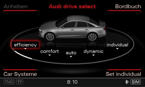 audi dynamic mode audi drive select audi technology portal