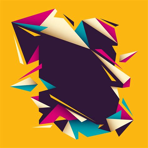 geometric banner   vectors clipart graphics