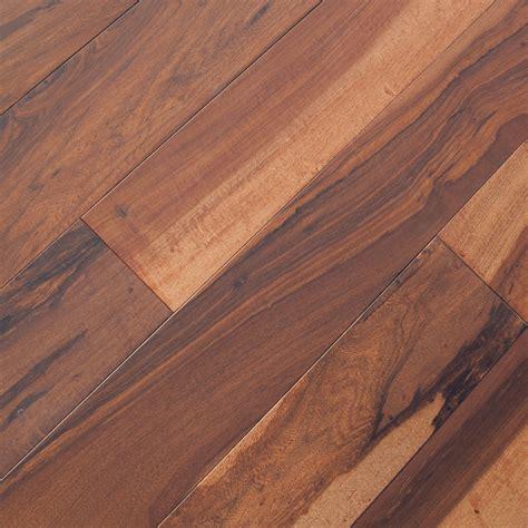 Macchiato Pecan Chocolate Hardwood Flooring   Prefinished