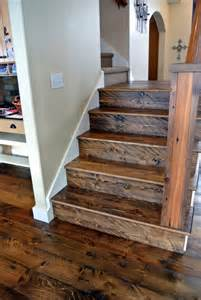 Douglas Fir Stairs by Rough Sawn Doug Fir Stair Parts Sustainable Lumber Company