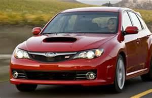 2008 Subaru Hatchback 2008 Subaru Impreza Wrx Sti Test Motor Trend All