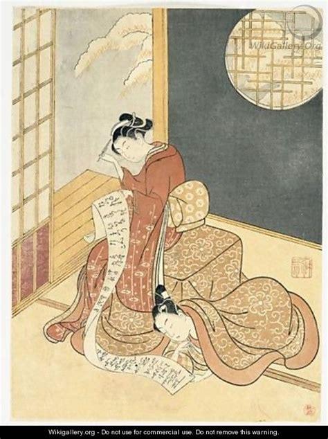 len luster e goyomi calendrier illustre suzuki harunobu