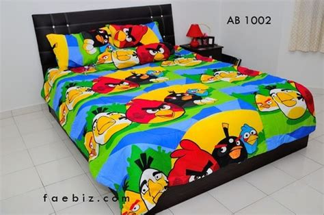 Bed Comforta Angry Bird angry birds size bedding set ab1002 on storenvy