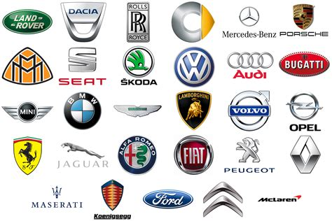 european car logos europe cars brands automotive