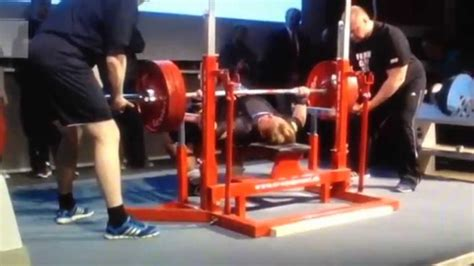 world record bench press kg hildeborg hugdal 225 kg 496 lbs bench press 84
