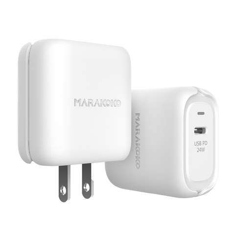 fast charging the iphone xs xs max and xr you need a marakoko pd wall charger