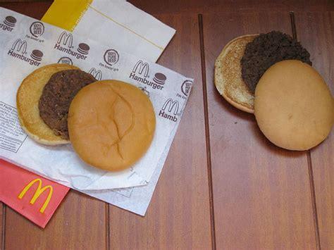 Vs Plain Mickey Burger 12 year mcdonald s hamburger still looking serious eats