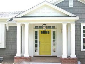 door colors for gray house house with yellow door hooked on houses