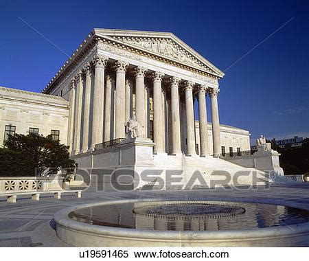 Dc Court Judiciary Search Stock Image Of Us Supreme Court Washington Dc U19591465
