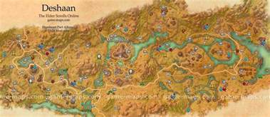 Eso World Map by Deshaan Map Eso Images