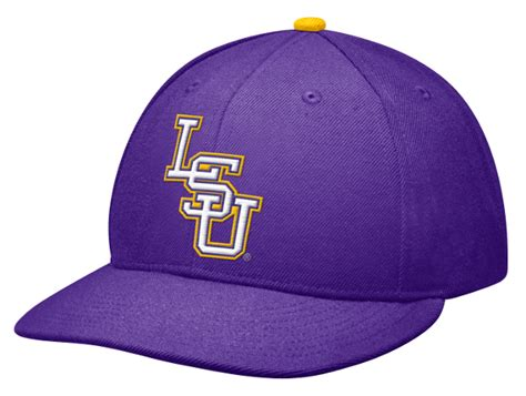 nike lsu tigers purple official authentic onfield players