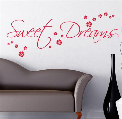 sweet dreams wall stickers sweet dreams wall sticker adanih