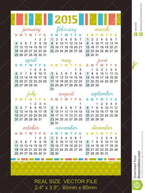 Calendario Cartera 2015 Calendario 2015 Bolsillo Calendar Template 2016
