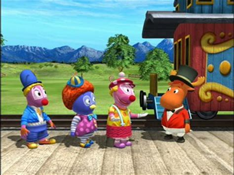 best clowns in town ep 16 the backyardigans