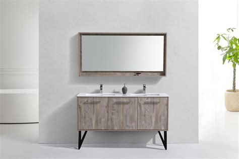 bathroom mirror and matching cabinet bosco 60 quot modern bathroom vanity and matching mirror