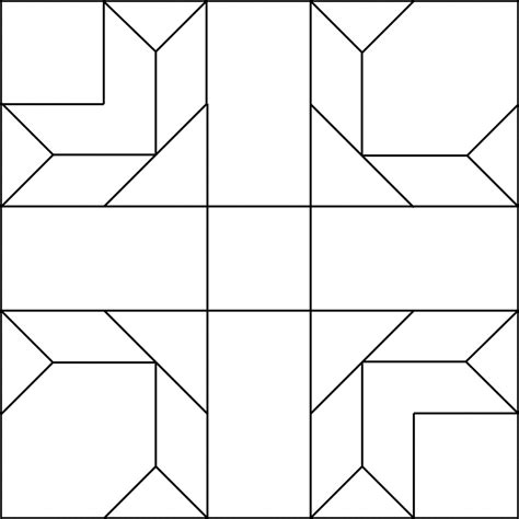 coloring book quilt blocks clip patterns cliparts co quilt block coloring page in