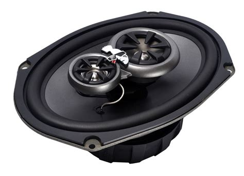 Speaker Subwoofer Mohawk mohawk mc 693 6x9 3 way coaxial speakers