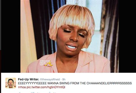 Laquita Blouse in the tweets nene leakes responds to criticism new