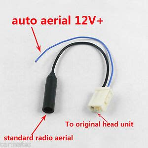 radio antenna harness cable for toyota gps camry hiace hilux prado corolla oz ebay