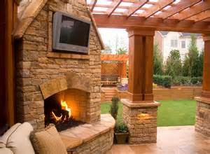 johns creek outdoor fireplaces boyce design contracting