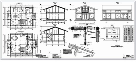 section elevation plans sections