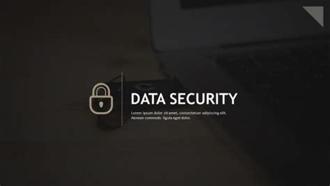 information security powerpoint template data driven financial graphs for powerpoint pslides