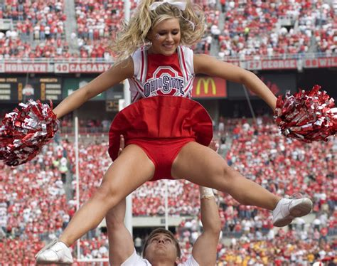college cheerleader uniform malfunction nfl and college cheerleaders photos so what is this